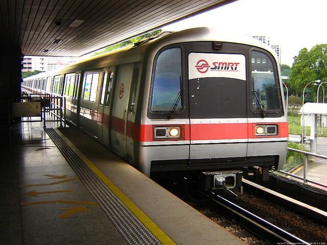 MRTはシンガポールの移動に便利な手段