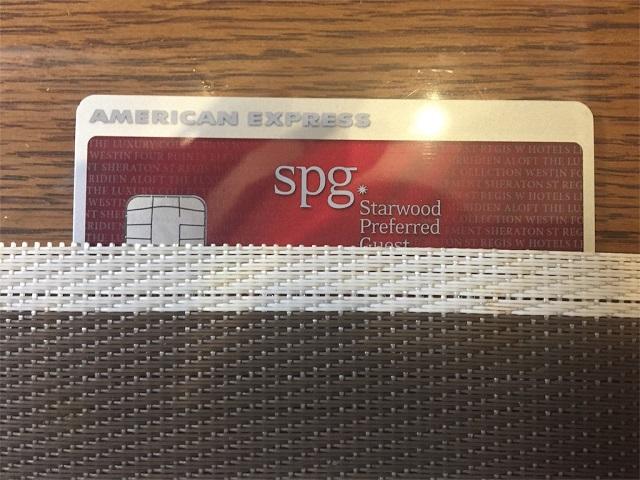 メインカードとして引き続き大活躍中のSPGアメックスカード